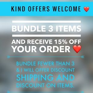 Bundle- discount shipping and minimum $2 off price